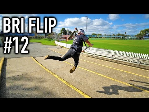 HOW MANY BRI FLIPS CAN I DO DOWN STAIRS!