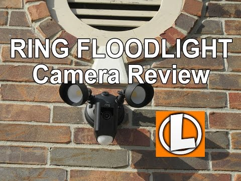 Ring FloodLight Camera Review - Unboxing, Installation, Setup, Video Footage