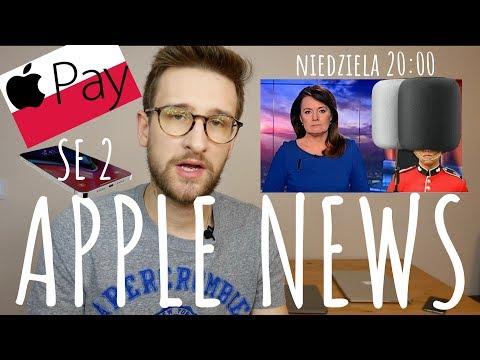 Apple News - iPhone SE 2, nowy MACBOOK AIR, ApplePAY w Polsce i HOMEPOD (21-28.01)