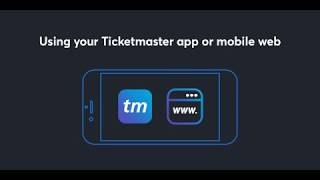 How To Use Mobile Entry Tickets | Ticketmaster Ticket Tips