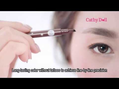 Cathy Doll 4D Real Brow Tattoo Tint 15 Sec TVC (Eng Sub)