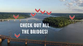 FLY OVER MARYLAND WITH DRONE