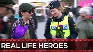 Where Police Meets Humanity & Heroism 4 REAL LIFE HEROES