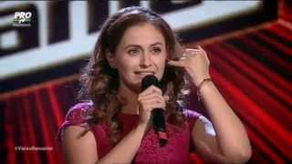Florina Calin - Nobody' wife (Anouk) full story - Blind auditions Vocea Romaniei S5 (2015)