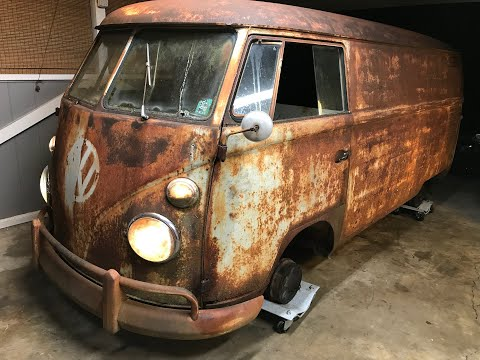 FIRST OIL CHANGE IN OVER 40 YEARS - RESURRECTION RESTORATION!!! 1962 VW Type 2 Van/Bus, VW Kombi