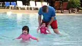 preview picture of video 'Partying at the pool in The Gambia'