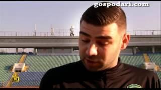Тони Бутони се среща с Владо Стоянов
