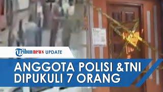 Penampakan Lokasi Anggota Brimob dan Anggota TNI Dikeroyok hingga 1 Orang Tewas, Ada Bercak Darah