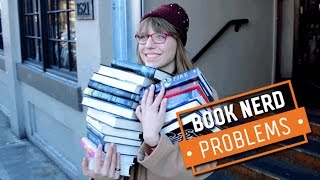 Book Nerd Problems | Being A Book Hoarder