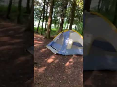 South Nicolet Bay Campground waterfront site