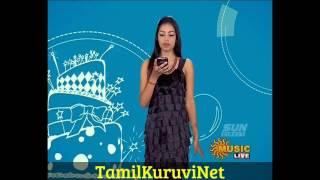 Vj Niveditha &Thurai Sun music Vaazthukkal,Full show HD Video 22-08- 2016