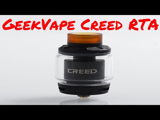 Geekvape Creed RTA. One Tank, 3 airflow options!