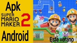 Super Mario Maker Apk