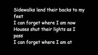 Armor For Sleep   My Town   Lyrics