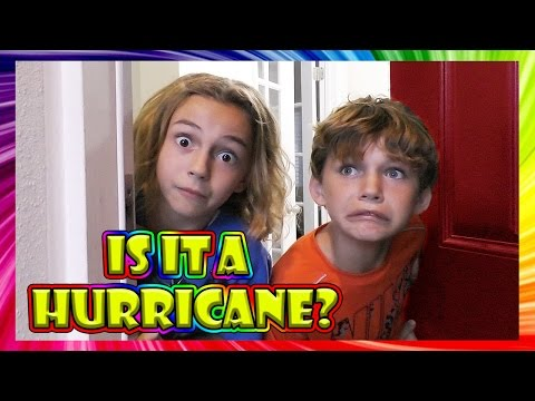IS A HURRICANE COMING? | We Are The Davises