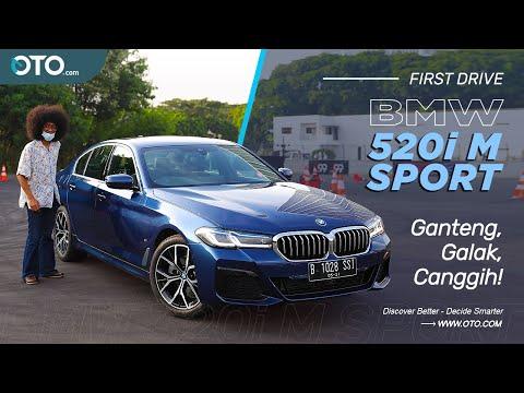 New BMW 520i M Sport | Teknologi Safety & Kemudahaan Makin Lengkap!