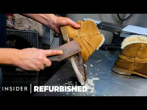Reviving an Old Pair of Ugg Boots