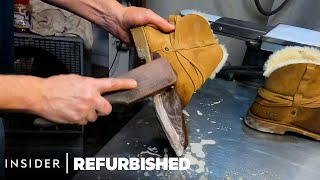 How Ugg Boots Are Professionally Restored | Refurbished