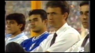 Albacete 2 - Real Madrid 0. Pretemporada 92/93.