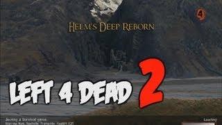 "Left 4 Dead 2 | SURVIVAL ""Helm's Deep - Helmův žleb"" | Český Let's Play | [720p] [PC]"