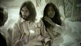 John and Yoko in Amsterdam, 1969