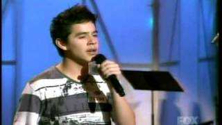 2. Hollywood Rounds - 'Heaven' by David Archuleta