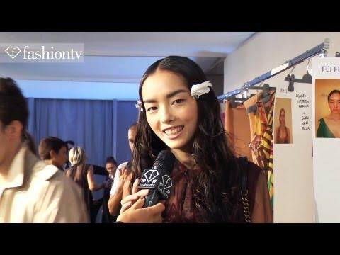 Model Talks - Fei Fei Sun - Interview & Highlights at Fashion Week 2012 Spring | FashionTV