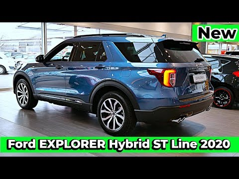 New Ford EXPLORER Hybrid ST Line 2020 Review Interior Exterior