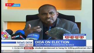 Abduba Dida opposes move to have only two candidates during the repeat of the presidential polls