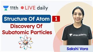 CBSE Class 11: Structure Of Atom L - 1 | Chemistry | Unacademy Class 11 & 12 | Sakshi - Download this Video in MP3, M4A, WEBM, MP4, 3GP