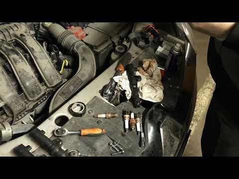 Замена свечей Renault Kaptur 2,0