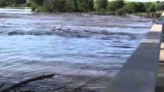 Elkhorn River Flood - Between Oakdale and Neligh, NE 6-15-10