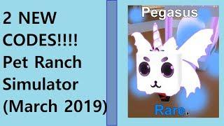 pet ranch simulator codes 2019 march - TH-Clip
