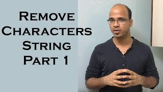 Remove Characters from Number String in Java    use of StringBuffer in Java Part 1