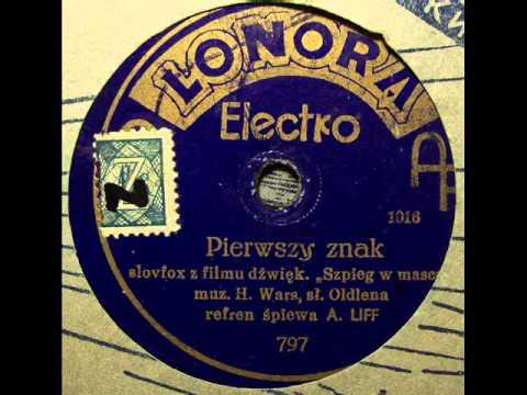 Albert Harris! Pierwszy Znak (slowfox H.Warsa) - 1933.avi