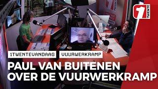 Van Buitenen over publicatie onderzoeksrapport vuurwerkramp