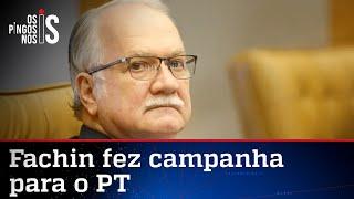 Relembre: Fachin já pediu votos para Dilma Rousseff