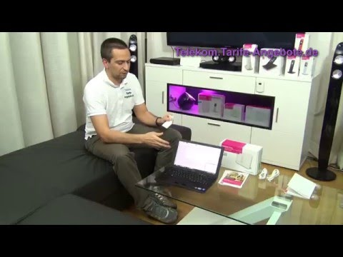 Telekom Speedport W724V - Einrichtung / Installation (Video)