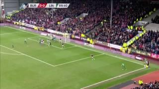 Burnley 0-1 Lincoln Sean Raggett Goal FA Cup 2017