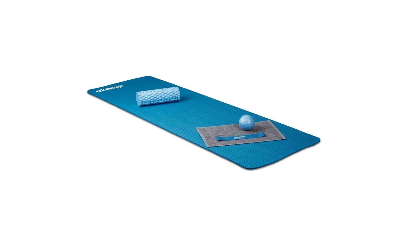 Video von: Yogamatte 1 cm dick einfarbig