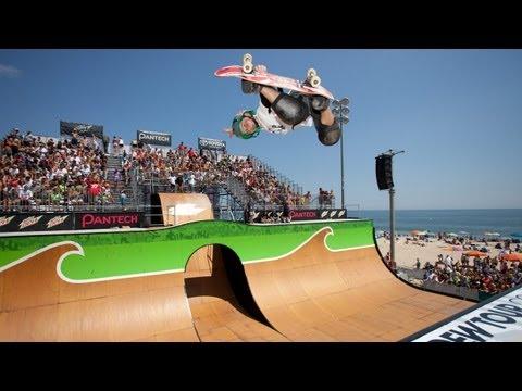 2012 Free Flow Tour Finals: Skate Vert Highlights feat. Zac Rose, Evan Doherty