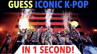 GUESS ICONIC K-POP SONGS IN 1 SECOND!