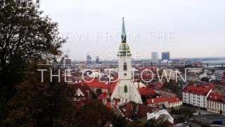 A Day Trip Well Spent || Bratislava || October