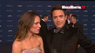 Роберт Дауни-младший,  LACMA Art+Film Gala 2013 Honoring Martin Scorsese and David Hockney - Interviews