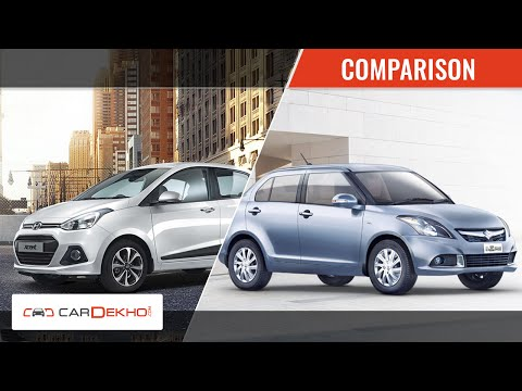 Comparison Video- 2015 Maruti Suzuki Swift Dzire Vs Hyundai Xcent Maruti Videos