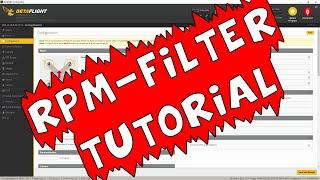 Betaflight Tutorial - RPM Filter & Bidirectional Dshot