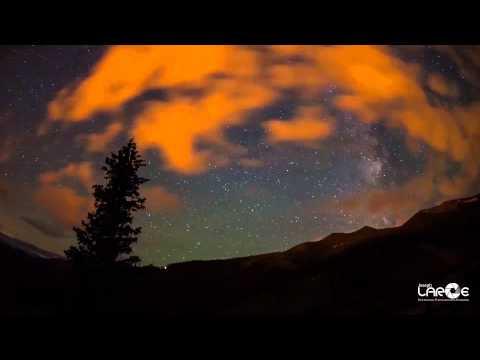 Perseid Meteor Shower Time Lapse August 12th Breckenridge Colorado