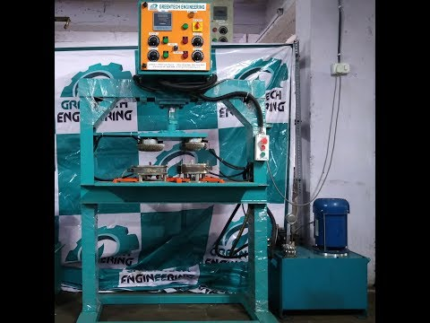 Four Die Disposable Paper Plate Making Machine