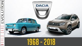 W.C.E - Dacia Evolution (1968 - 2018)