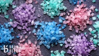 How To Make Bath Salt Crystals - Quick, Easy, And Super Sparkly! | Bramble Berry